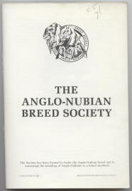 anglo-nubians